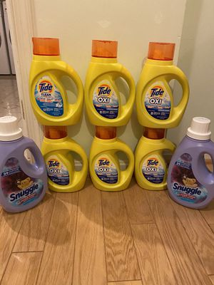 Tide simply detergent & snuggle fabric softener bundle for Sale in Springfield, VA