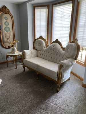 Sofa, loveseat, chair, marble top coffee table and 2 side table for Sale in West Bloomfield Township, MI