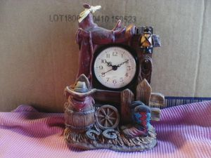 Western clock,,8in.long,,7in.wide,, Battery operated. for Sale in Linden, PA