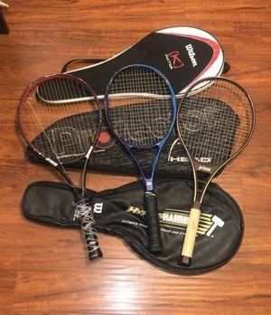 Tennis Rackets/Tennis Bags/Tennis Gear for Sale in Bell Gardens, CA