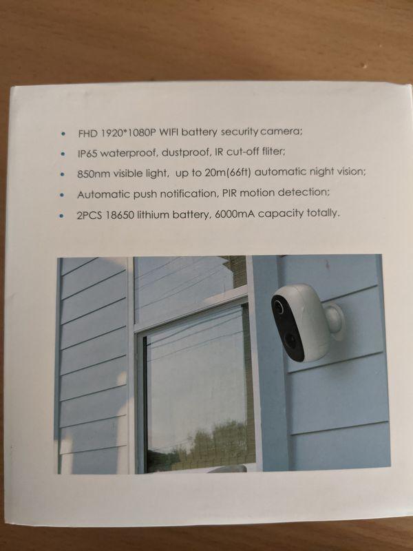 IeGeek Wireless Outdoor Security Camera