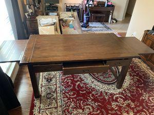 Pottery Barn solid wood desk for Sale in Allen, TX