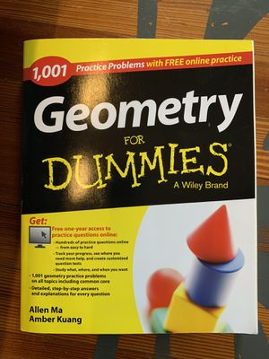 Geometry for Dummies for Sale in West Orange, NJ