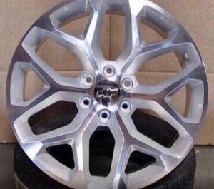""""""" 26"""" GMC Chevrolet Replica Wheels Rims Black Machine - Gloss Black - Machine Silver Brand New In Box 24"""" Inch ...$ 1099 (Wheels Only) 26"""" Inch . for Sale in La Habra, CA"""