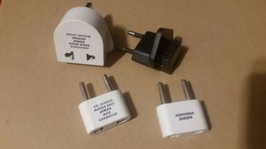 Wall sockets for other countries when traveling for Sale in Tempe, AZ