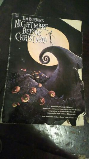 Nightmare Before Christmas Book for Sale in Denver, CO