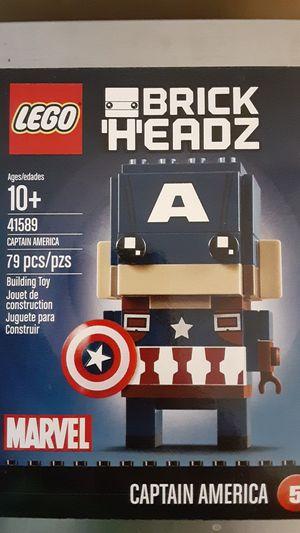 Lego Marvel Captain America Brickheadz 41589 #5 RETIRED SEALED BRAND NEW for Sale in Weymouth, MA