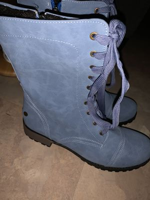 Blue boots for Sale in New Port Richey, FL