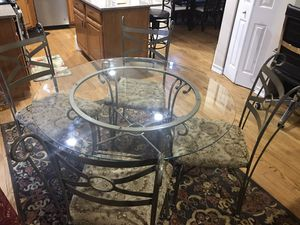 Glass breakfast table for sale for Sale in Aurora, IL