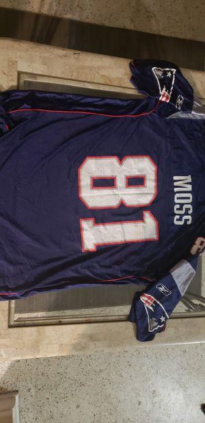 Randy Moss Patriots Jersey for Sale in Saint Petersburg, FL