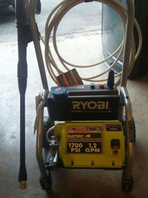 Ryobi 1700psi power washer for Sale in St Louis, MO