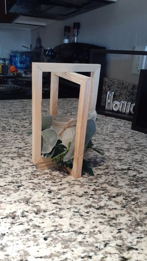 Beautiful home made wooden candle holder/Lantern for Sale in Mesa, AZ