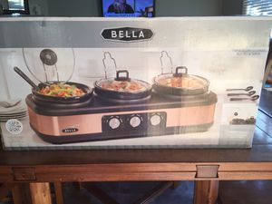 Triple Slow Cooker, Buffet and Serve for Sale in Tacoma, WA