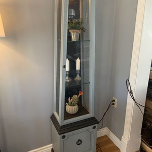 Antique Lighted Curio Cabinet for Sale in Manchester, CT