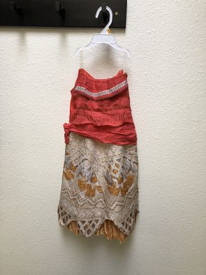 MOANA GIRLS DRESS for Sale in Lincoln Acres, CA