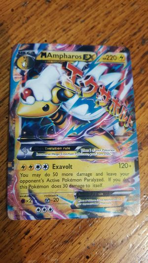 Pokemon Ampharos EX card for Sale in Battle Ground, WA