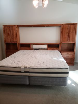 Bed and Armoir set for Sale in Gilbert, AZ