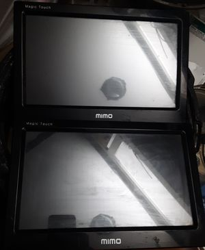 2 10 inch touch screen interface and multimedia screens. for Sale in Tucson, AZ