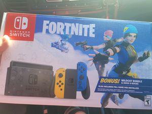 Nintendo switch fortnite bundle new for Sale in Pembroke Pines, FL