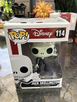 Funko PoP! Nightmare before Christmas jack Skellington with snowflake. Box . damageSorry I don't ship. Everett Melvin Ave. and Broadway. for Sale in Everett,  WA