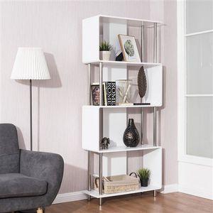 Modern 4-Shelf Metal Frame Bookcase for Sale in Phoenix, AZ