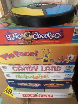 Kids board games and Simon says for Sale in Delaware, OH