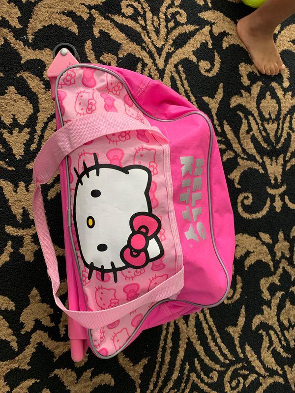 Hello kitty stroller for kids