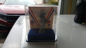 Statue of Liberty Centennial Pewter Figurine Collectible 1886-1986 (3 Inch) for Sale in Houston, TX