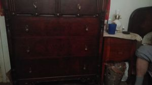 Two antique dresser one is from 1922 special edition the long one and the tall one is from the late 1800s both in good condition for Sale in Columbus, OH
