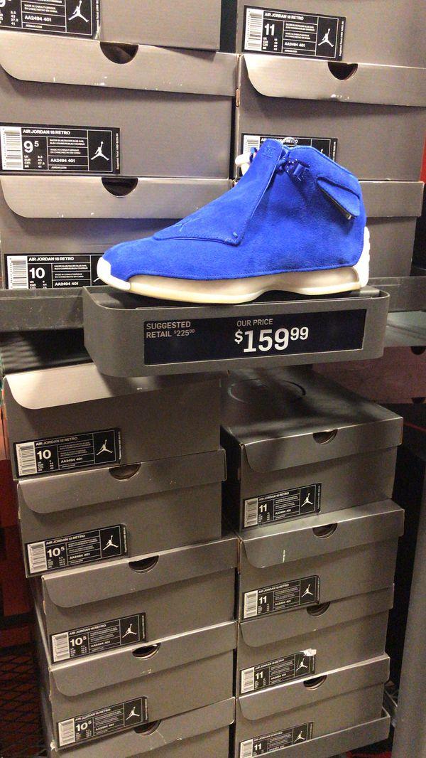 Air Jordan XVlll size 11