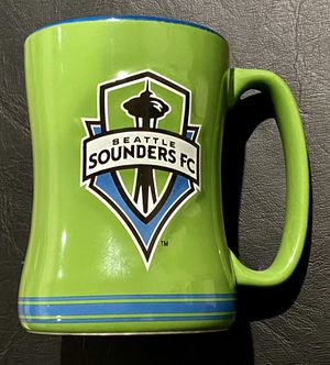 Coffee Cup Sports MLS Seattle Sounders 14 ounce Mug - Pre-Owned - 2015 Soccer for Sale in Sammamish, WA