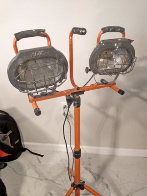 Construction Lamp, extension, boots, vacuum for Sale in Spencerville, MD