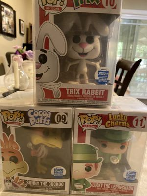 Funko pop exclusives.. ad icons for Sale in West Covina, CA