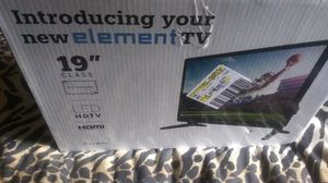 """ELEMENT 19"""" LED HDTV HDMI for Sale in Brownsville, TX"""