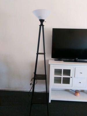 2 tier shelve floor lamp for Sale in Los Angeles, CA