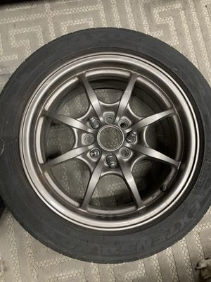 Honda Acura rota circuit 8 bronze with tires for Sale in West Covina, CA