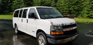 2003 Chevrolet Chevy Express 12 Passenger Van for Sale in Battle Ground, WA