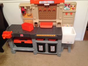 Kids work bench w/tools for Sale in San Angelo, TX