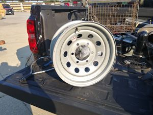 "Set of 2 Rims 15"" 6 lug 5.5""pattern for Sale in Plainfield, IL"