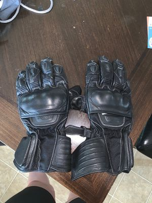 Triumph motorcycle gloves for Sale in Austin, TX
