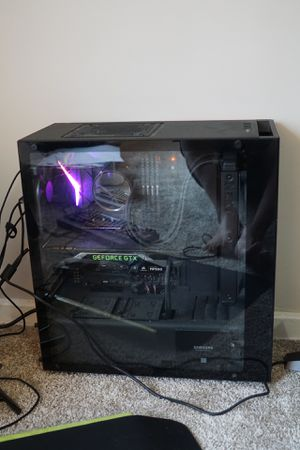 Custom Built Gaming PC with Complete Setup for Sale in Tacoma, WA