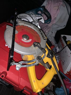 Dewalt Skil saw, Worm drive 50 bucks for Sale in Eugene, OR