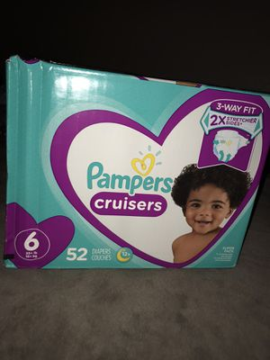Size 6 diapers for Sale in Stockton, CA