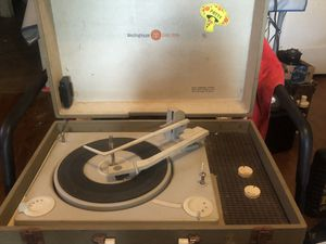 Vintage Westinghouse Record Player. for Sale in West Columbia, SC