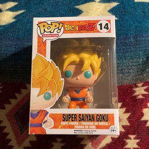 Funko Pop Vinyl Figure - Super Saiyan Goku for Sale in Fort Lauderdale, FL