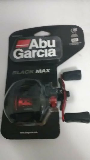 Abu Garcia silver Max and Black Max fishing rods PAIR OF TWO FOR 80 for Sale in Liberty Hill, TX