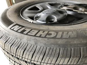 Jeep Wrangler wheels and tires for Sale in Chula Vista, CA