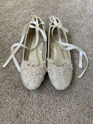 Beige ballet flats, size 7,5 for Sale in Hayward, CA