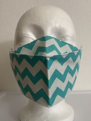 3D Face Mask Adults (Turquoise)-C36 for Sale in San Diego, CA