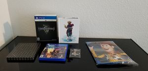 Kingdom hearts 3 Deluxe edition for Sale in St. Cloud, FL